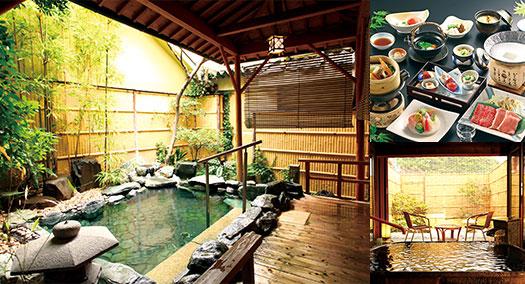 温泉三昧の宿 ホテル亀屋本店